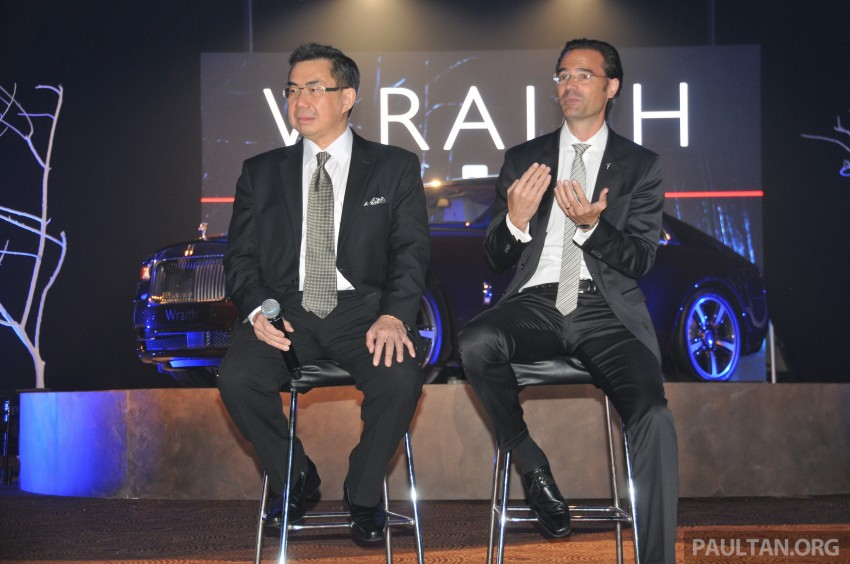 Rolls-Royce Wraith launched – RM1.3 million onwards Image #180996