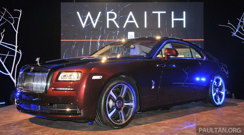 Rolls-Royce Wraith launched – RM1.3 million onwards Image #180997