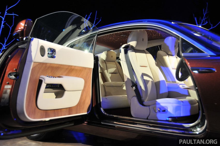 Rolls-Royce Wraith launched – RM1.3 million onwards Image #181004