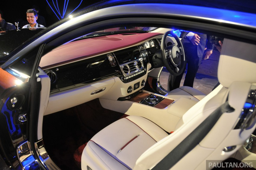 Rolls-Royce Wraith launched – RM1.3 million onwards Image #181006