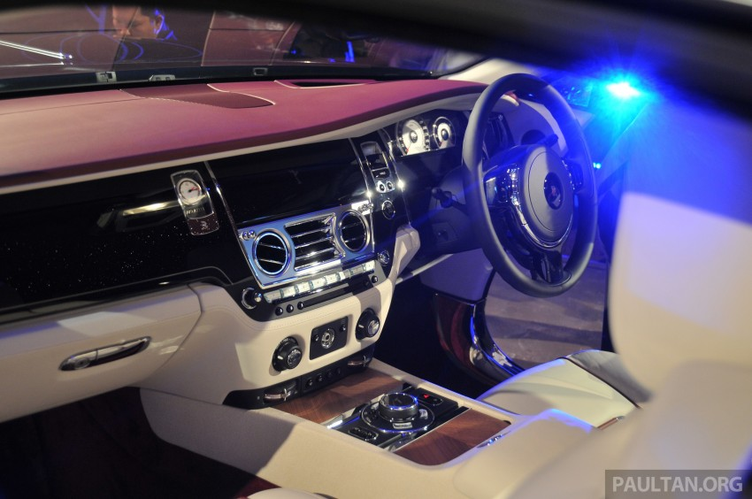 Rolls-Royce Wraith launched – RM1.3 million onwards Image #181007
