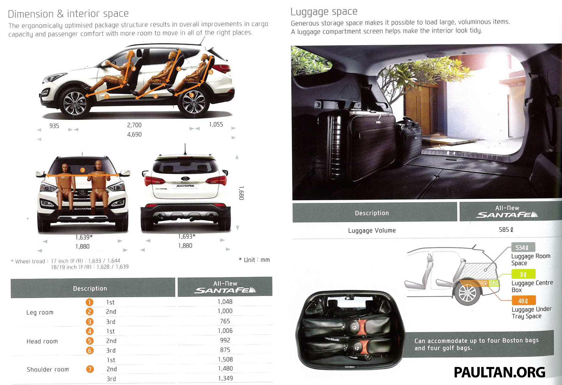 hyundai santa fe launched in malaysia 2 4 petrol and 2 2 diesel seven seat suv from rm163 888. Black Bedroom Furniture Sets. Home Design Ideas
