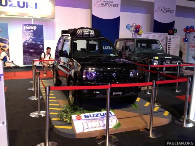 Suzuki Jimny Front