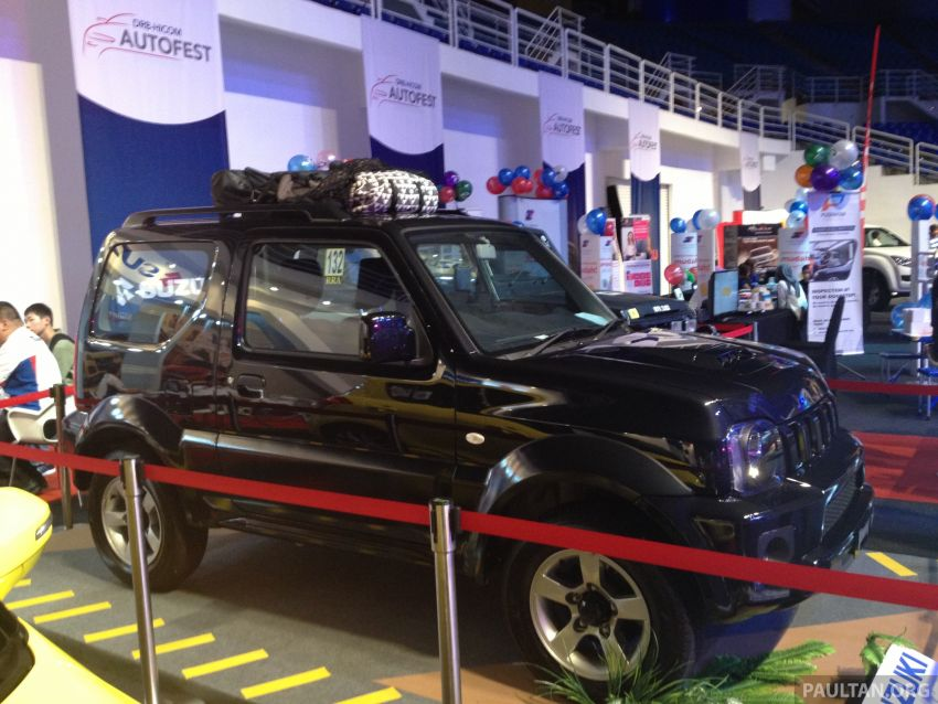 Suzuki Jimny previewed at DRB-HICOM Autofest Image #183781