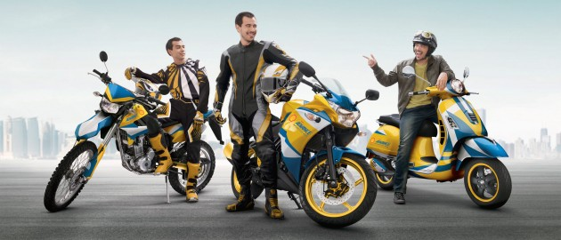 Shell Advance 'Win the Ride of Your Choice'