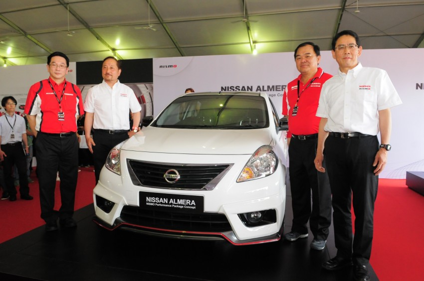 Nissan Almera Nismo Performance Package Concept Image #180951