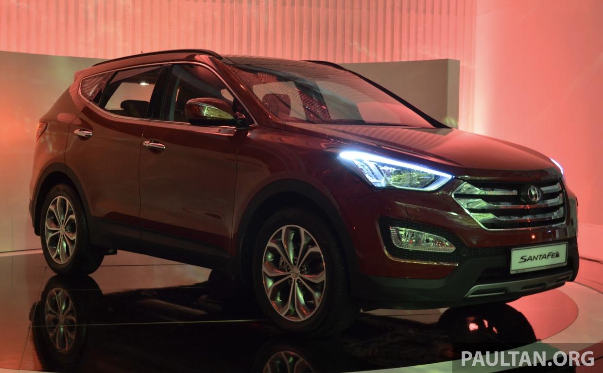 2018 Hyundai Santafe >> Hyundai Santa Fe launched in Malaysia – 2.4 petrol and 2.2 diesel, seven-seat SUV from RM163,888 ...