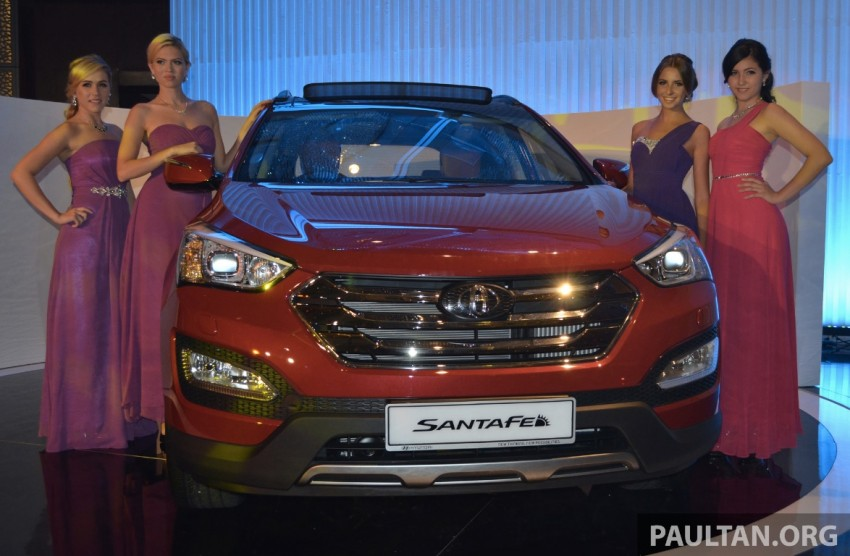 Hyundai Santa Fe launched in Malaysia – 2.4 petrol and 2.2 diesel, seven-seat SUV from RM163,888 Image #182400