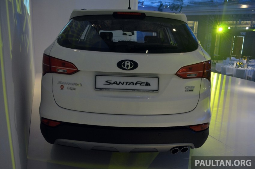 Hyundai Santa Fe launched in Malaysia – 2.4 petrol and 2.2 diesel, seven-seat SUV from RM163,888 Image #182403