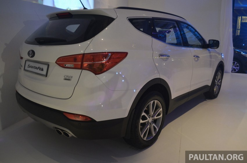 Hyundai Santa Fe launched in Malaysia – 2.4 petrol and 2.2 diesel, seven-seat SUV from RM163,888 Image #182404