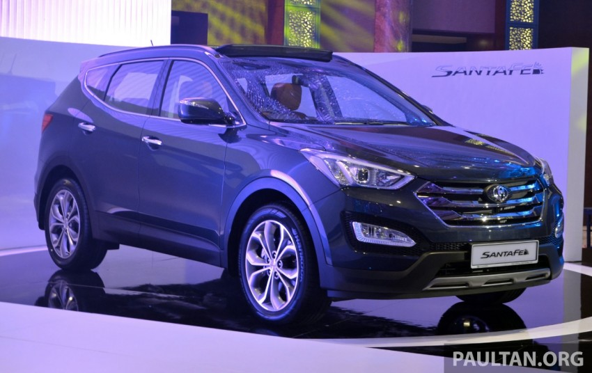Hyundai Santa Fe launched in Malaysia – 2.4 petrol and 2.2 diesel, seven-seat SUV from RM163,888 Image #182405