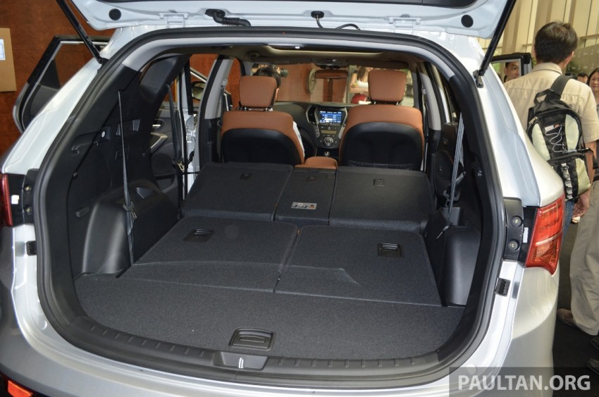 Hyundai Santa Fe launched in Malaysia – 2.4 petrol and 2.2 diesel, seven-seat SUV from RM163,888 Image #182413