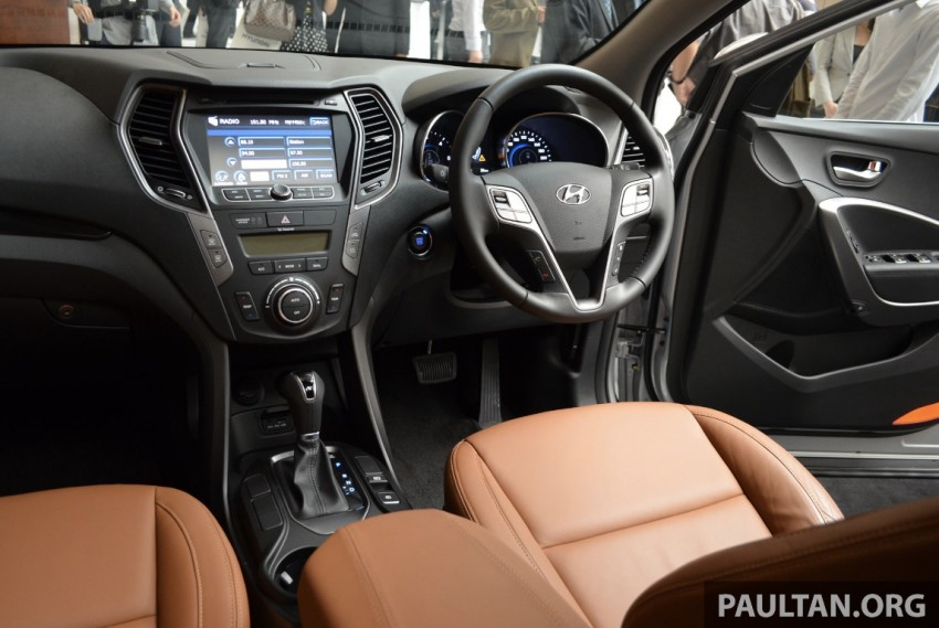 Hyundai Santa Fe launched in Malaysia – 2.4 petrol and 2.2 diesel, seven-seat SUV from RM163,888 Image #182419