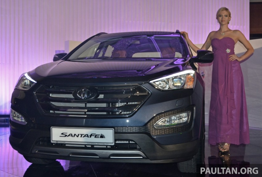 Hyundai Santa Fe launched in Malaysia – 2.4 petrol and 2.2 diesel, seven-seat SUV from RM163,888 Image #182376