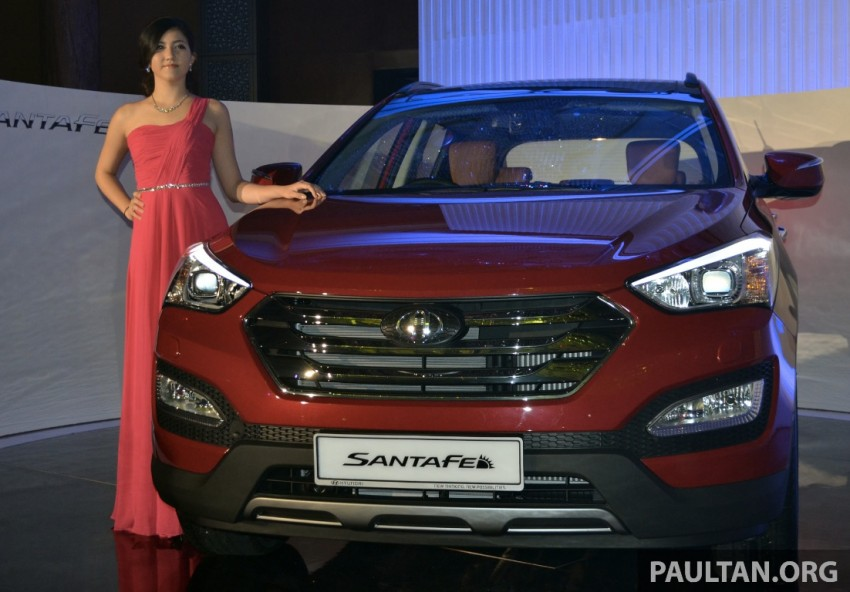 Hyundai Santa Fe launched in Malaysia – 2.4 petrol and 2.2 diesel, seven-seat SUV from RM163,888 Image #182377