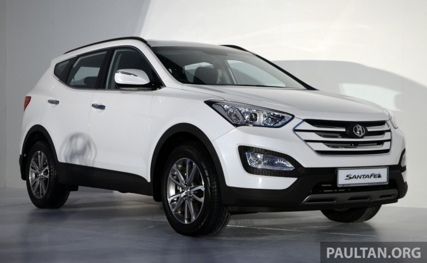Hyundai Santa Fe launched in Malaysia – 2.4 petrol and 2.2 diesel, seven-seat SUV from RM163,888 Image #182378