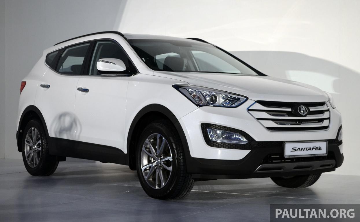 Hyundai Santa Fe Launched In Malaysia 2 4 Petrol And 2 2