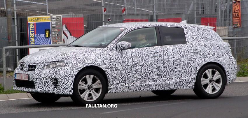 Lexus NX compact SUV prototype undergoing tests Image #181880