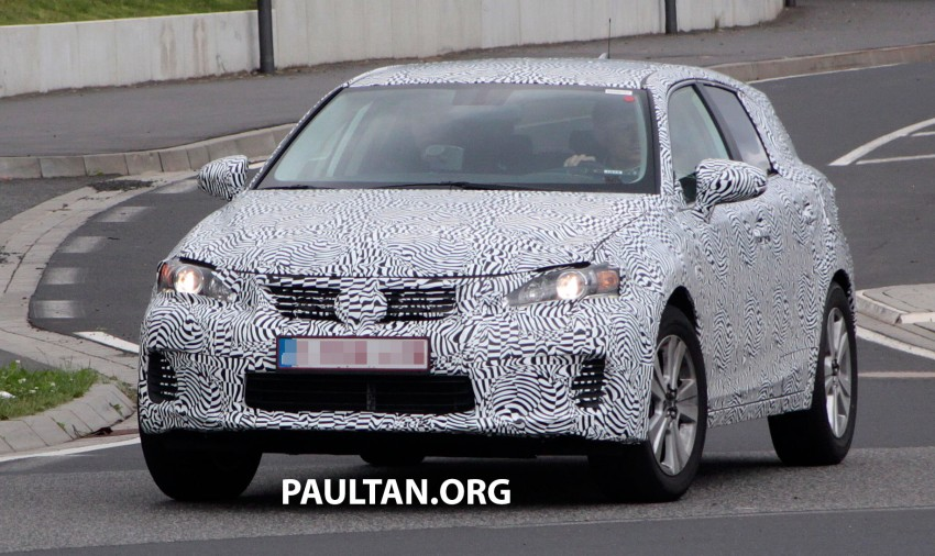 Lexus NX compact SUV prototype undergoing tests Image #181882