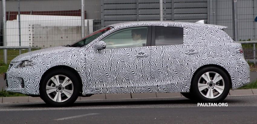 Lexus NX compact SUV prototype undergoing tests Image #181883