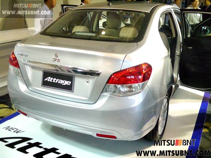 Mitsubishi Attrage previewed ahead of Thai launch Image #178673