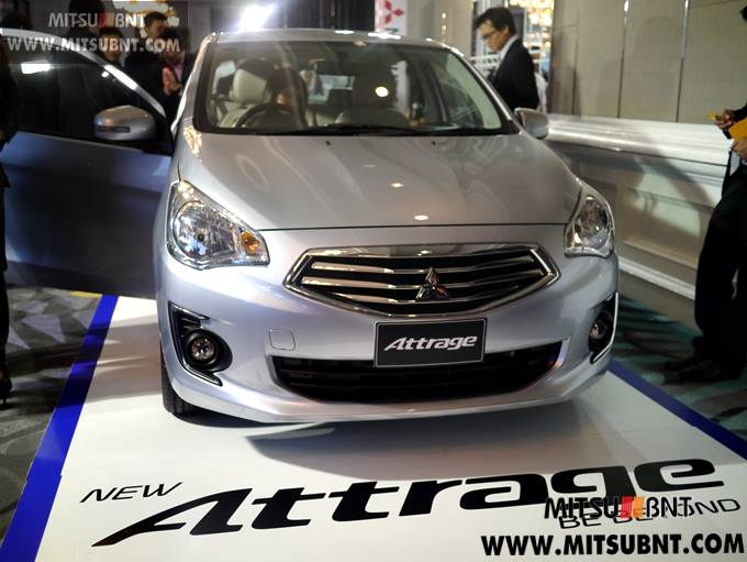 Mitsubishi Attrage previewed ahead of Thai launch Image #178674