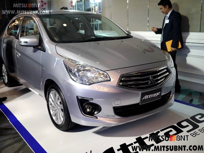 Mitsubishi Attrage previewed ahead of Thai launch Image #178675