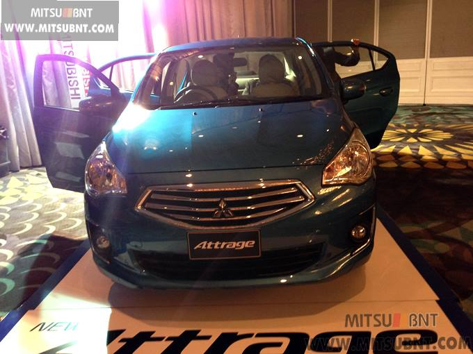 Mitsubishi Attrage previewed ahead of Thai launch Image #178676