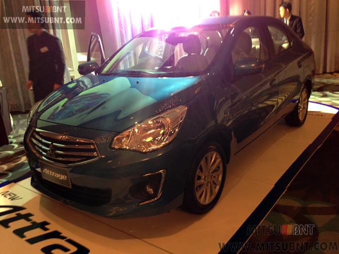 Mitsubishi Attrage previewed ahead of Thai launch Image #178677