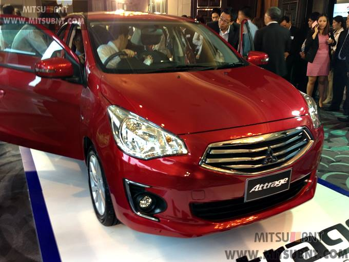 Mitsubishi Attrage previewed ahead of Thai launch Image #178684