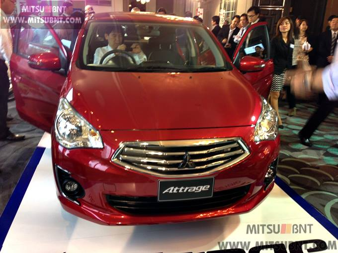 Mitsubishi Attrage previewed ahead of Thai launch Image #178685
