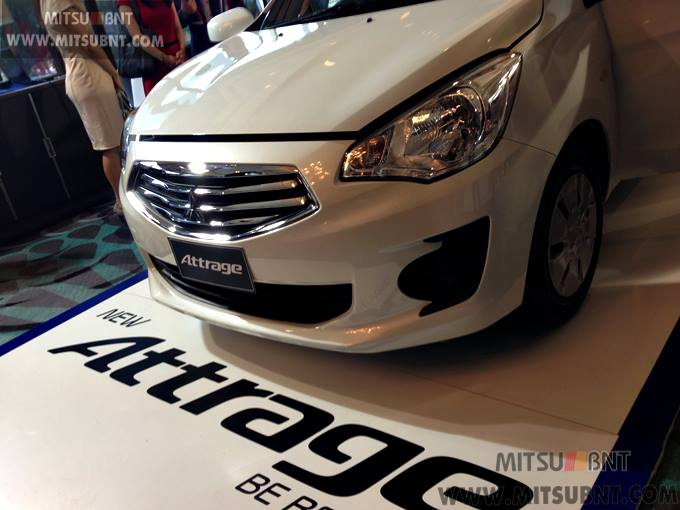 Mitsubishi Attrage previewed ahead of Thai launch Image #178688