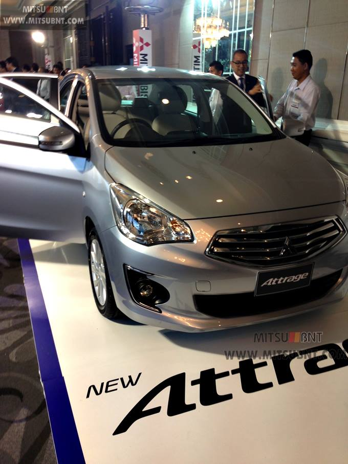 Mitsubishi Attrage previewed ahead of Thai launch Image #178692