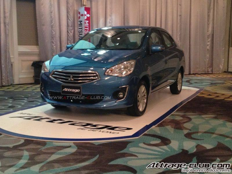 Mitsubishi Attrage previewed ahead of Thai launch Image #178669