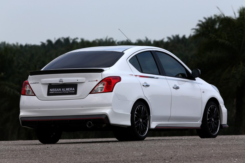 Nissan Almera Nismo Performance Package Concept Image #180907