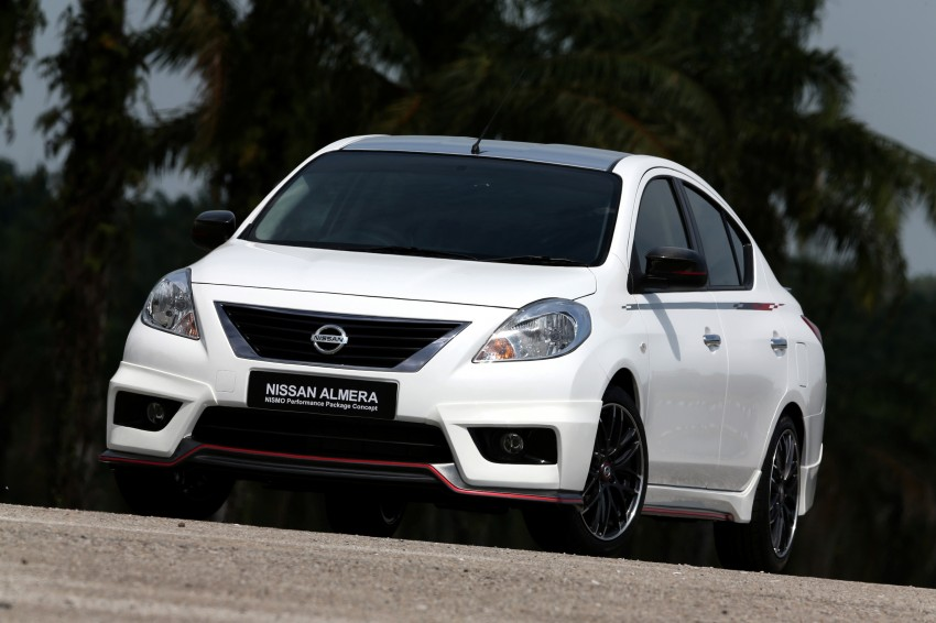 Nissan Almera Nismo Performance Package Concept Image #180908