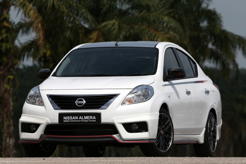 Nissan Almera Nismo Performance Package Concept Image #180909