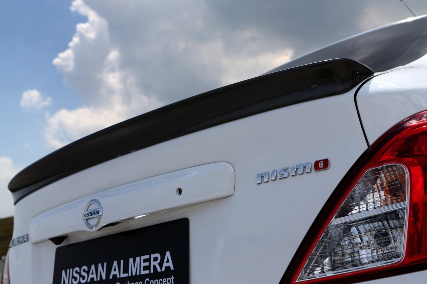 Nissan Almera Nismo Performance Package Concept Image #180911