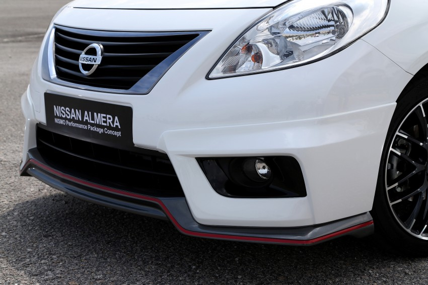 Nissan Almera Nismo Performance Package Concept Image #180913