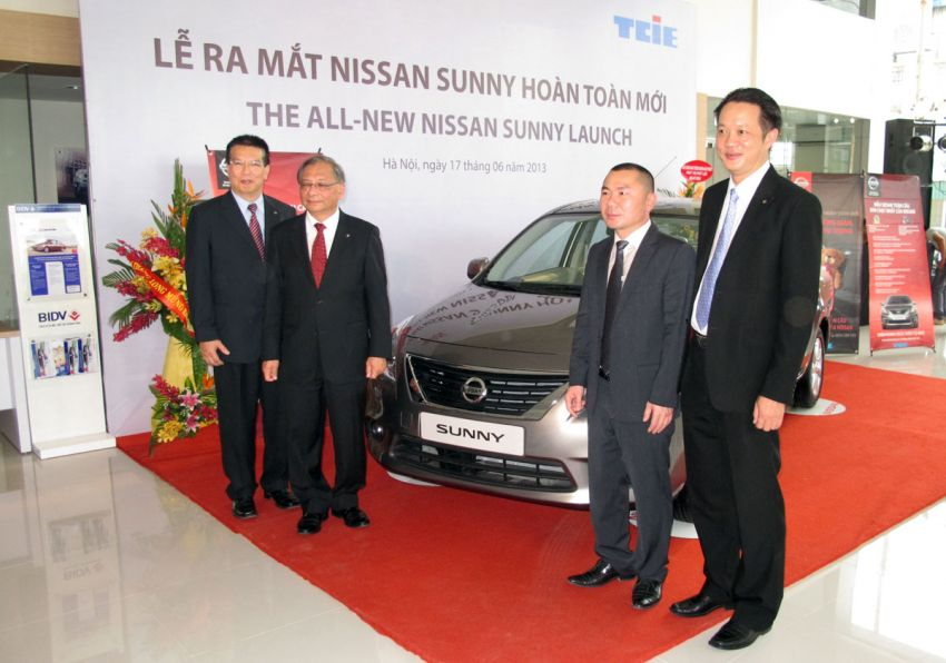 Tan Chong launches the Nissan Sunny in Vietnam Image #183671