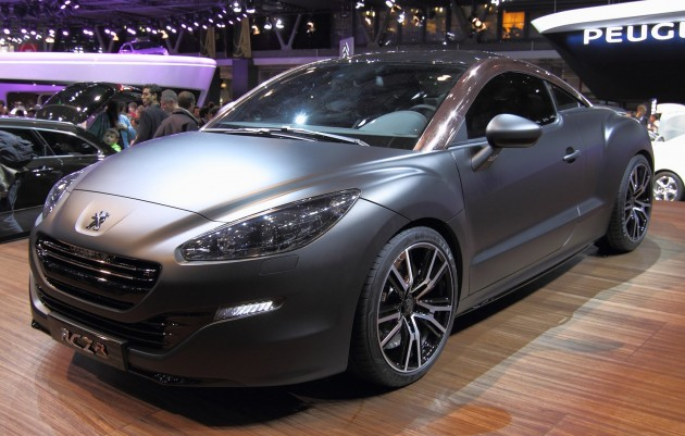 Peugeot Rcz R Production Model To Premiere At Goodwood