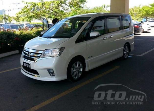 Nissan Serena S-Hybrid: RM14x,xxx on oto.my