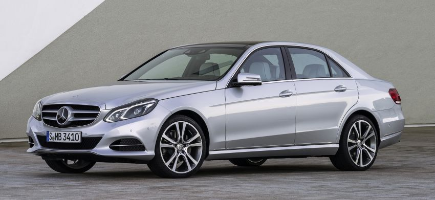 Mercedes-Benz E350 Bluetec first to get 9G-TRONIC Image #188764