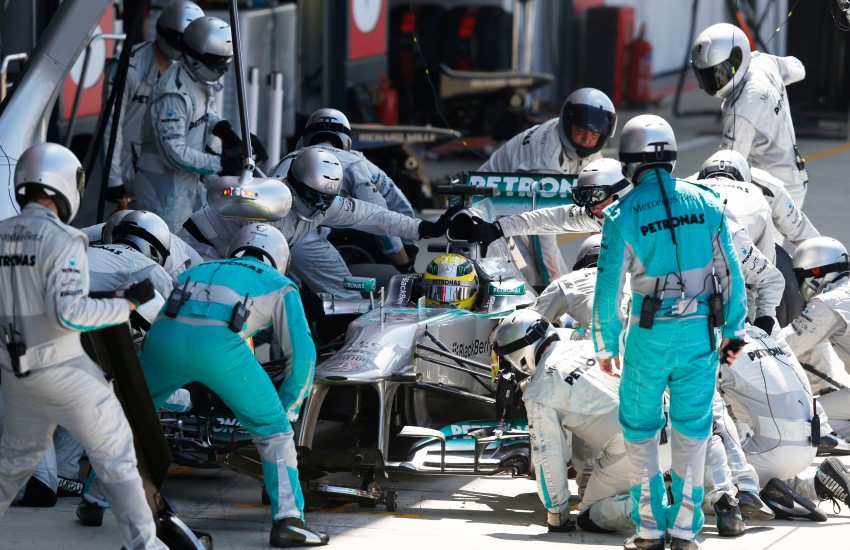 Nico Rosberg wins chaotic 2013 British Grand Prix in Silverstone for Mercedes AMG Petronas F1 Team Image #184149