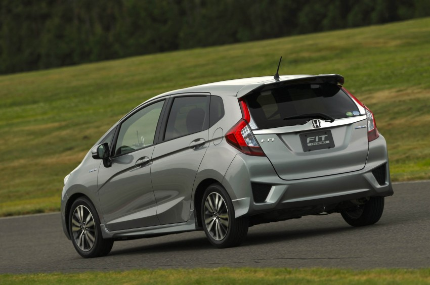 Third-gen Honda Jazz debuts; first details and pictures Image #188369