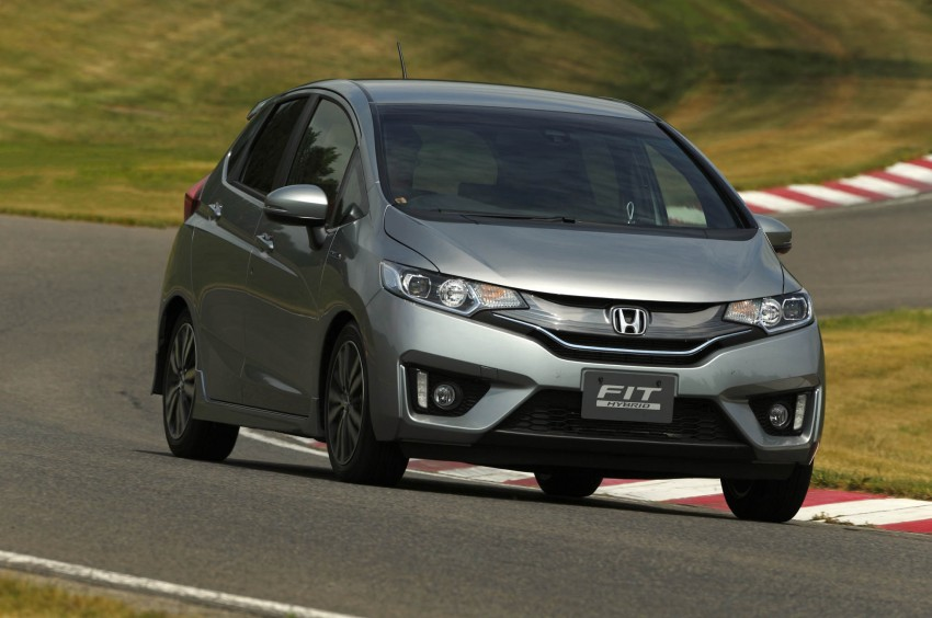 Third-gen Honda Jazz debuts; first details and pictures Image #188371