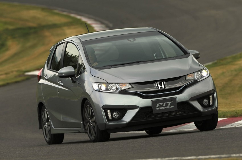 Third-gen Honda Jazz debuts; first details and pictures Image #188372