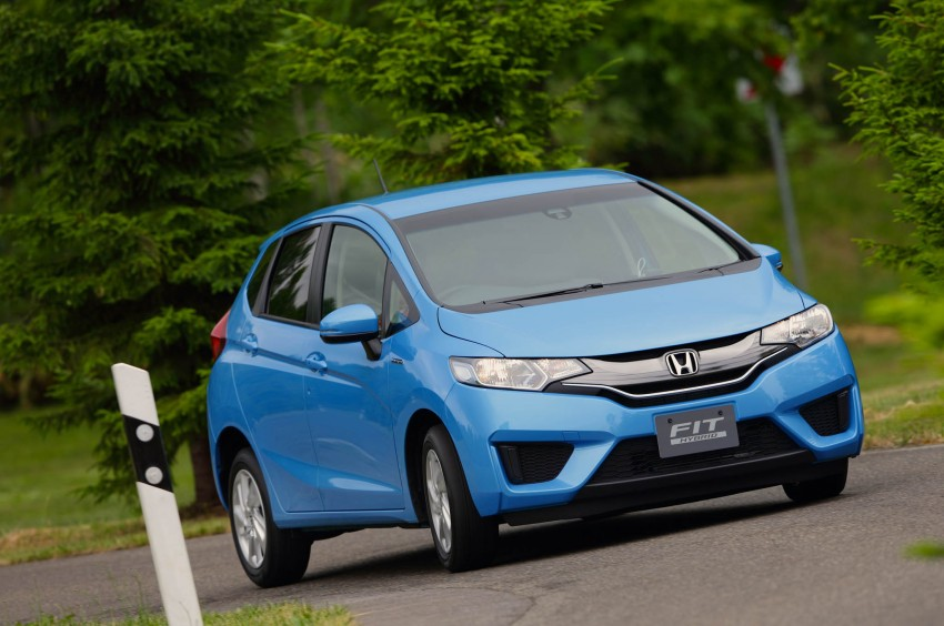 Third-gen Honda Jazz debuts; first details and pictures Image #188375