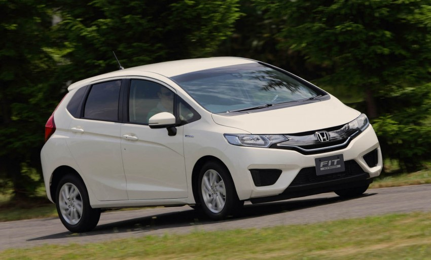 Third-gen Honda Jazz debuts; first details and pictures Image #188365