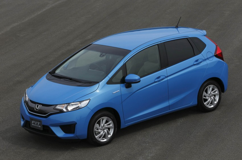 Third-gen Honda Jazz debuts; first details and pictures Image #188376